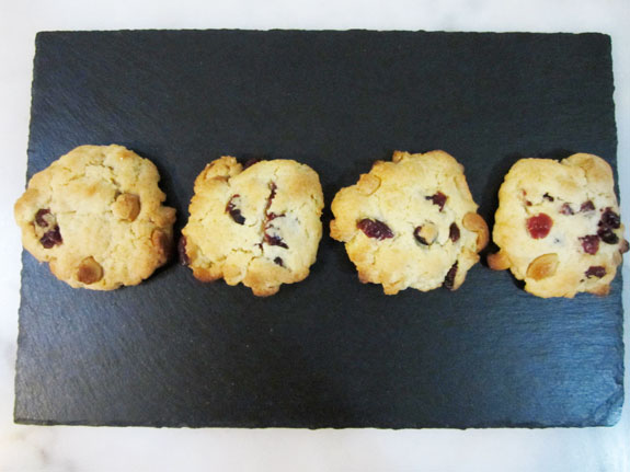 Cookies Cranberries Cajou