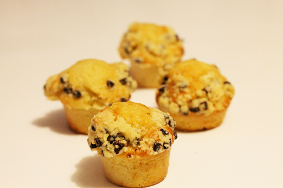 Muffins crumble